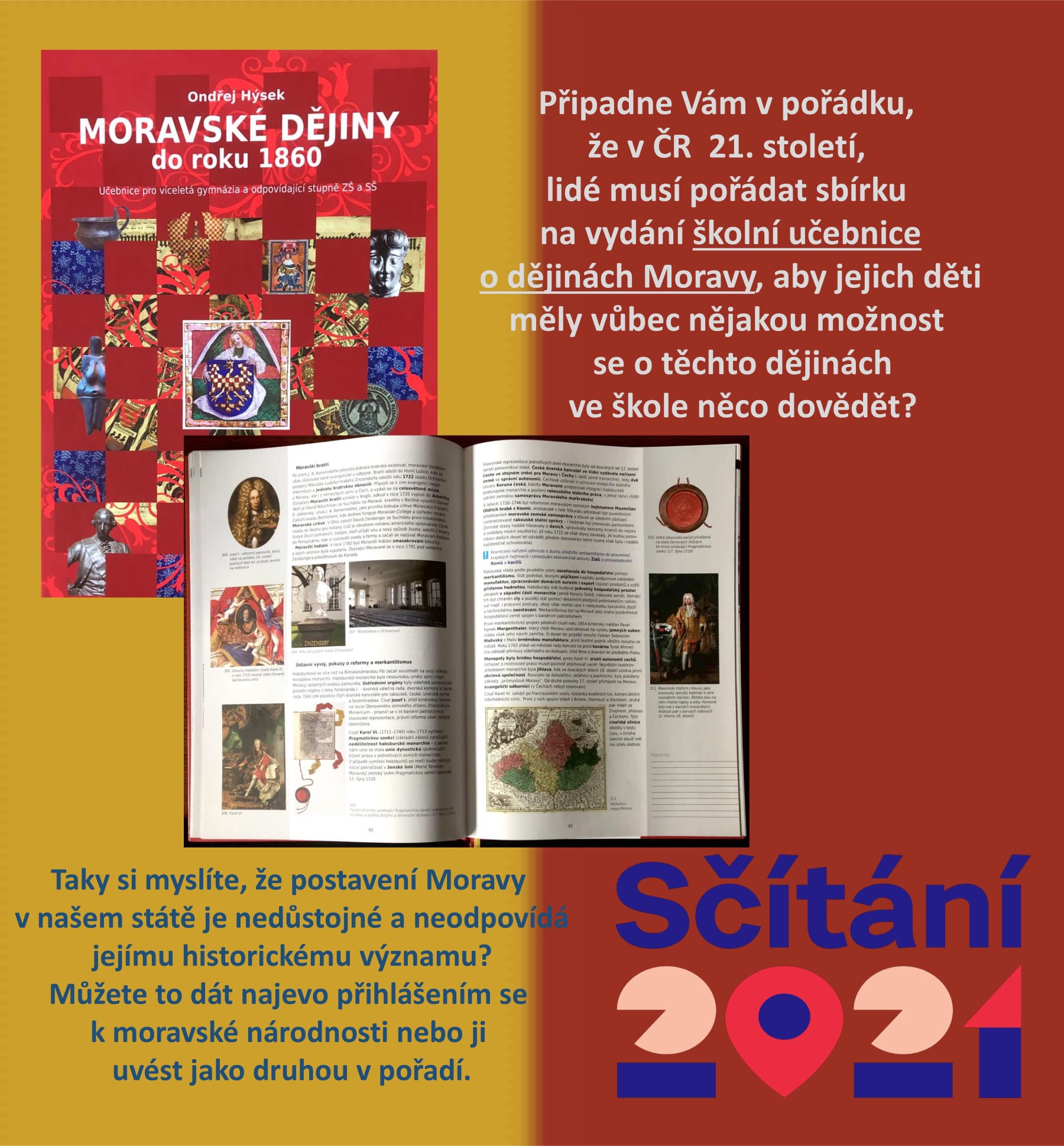 Sčítání - Dějiny Moravy